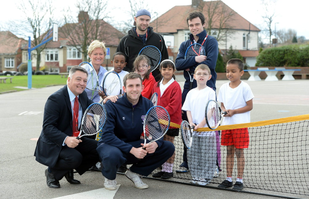 Tennis Champ makes return