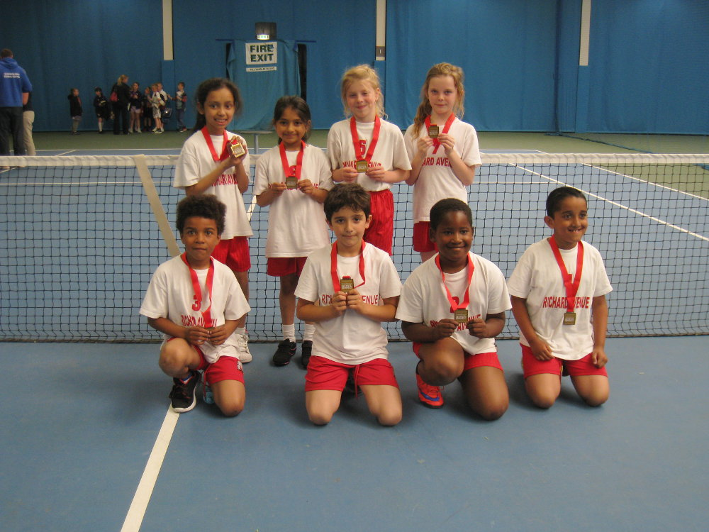 Year 3 Tennis Champs