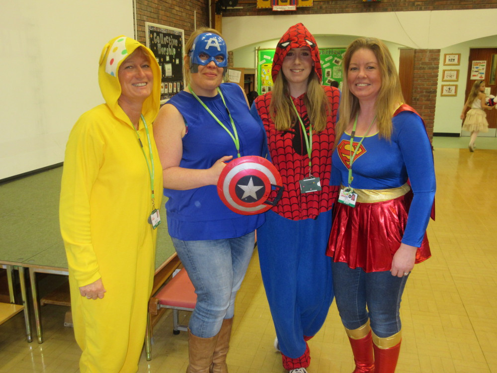 Children in Need 2015 Teachers