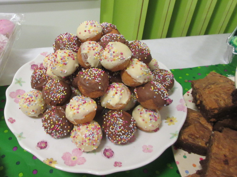Delicious cakes for Macmillan
