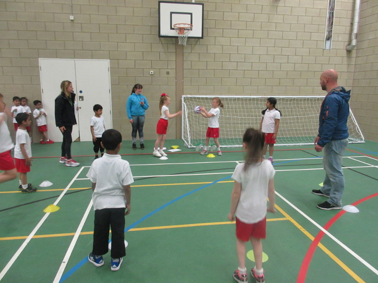 Year 2 Sports Competition at Thornhill