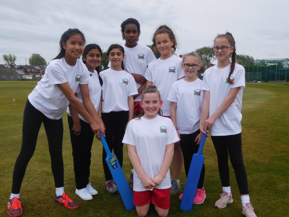 Year 6 Girls Cricket Team