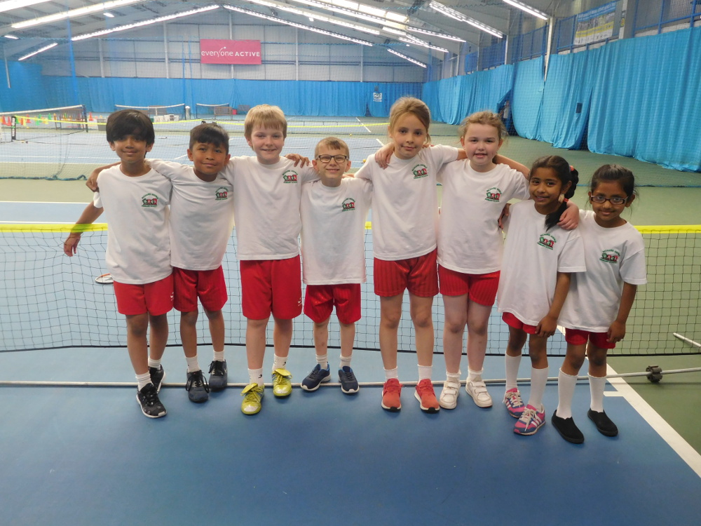 Year 3 Tennis Team