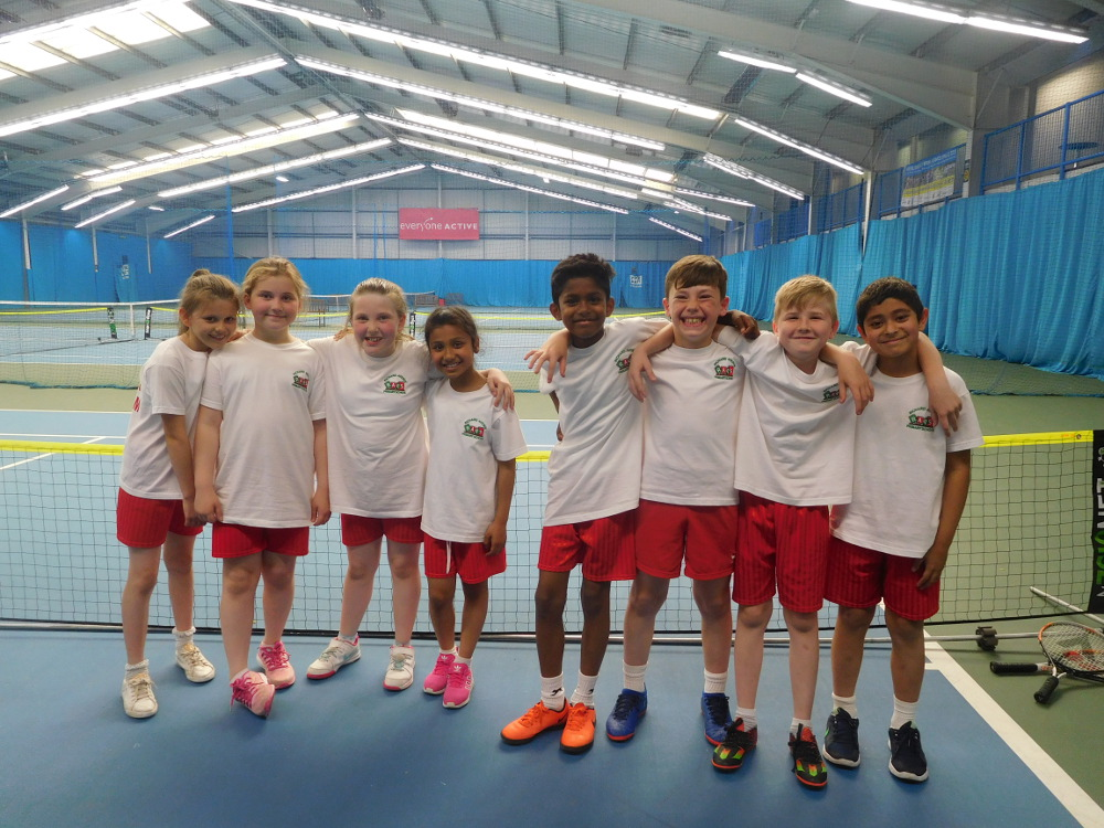 Year 4 Tennis Team
