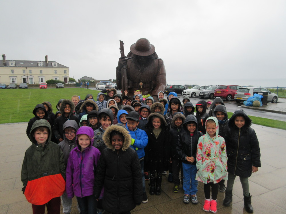 Year 2 at the Seaside in Seaham