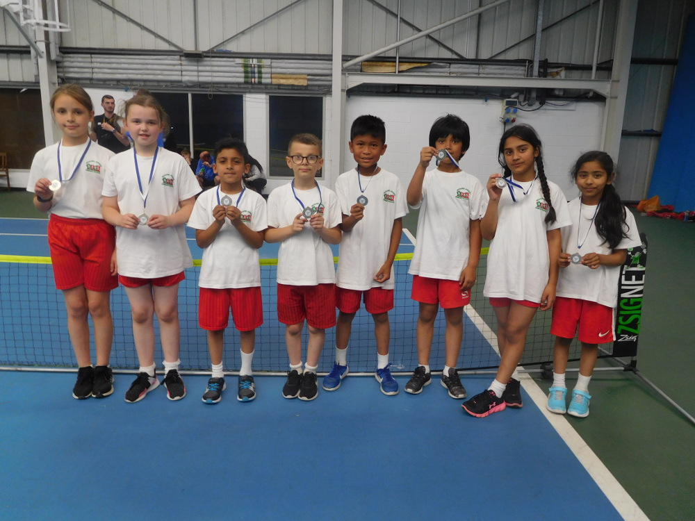 Year 4 Tennis Team 2018
