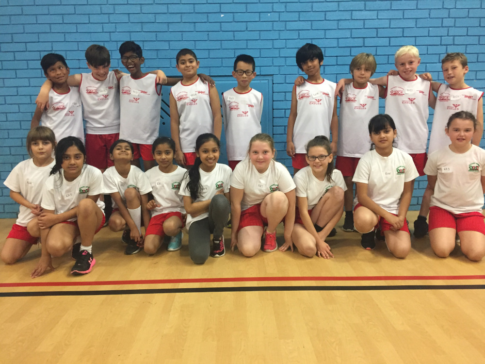 The Year 5/6 Athletics Team