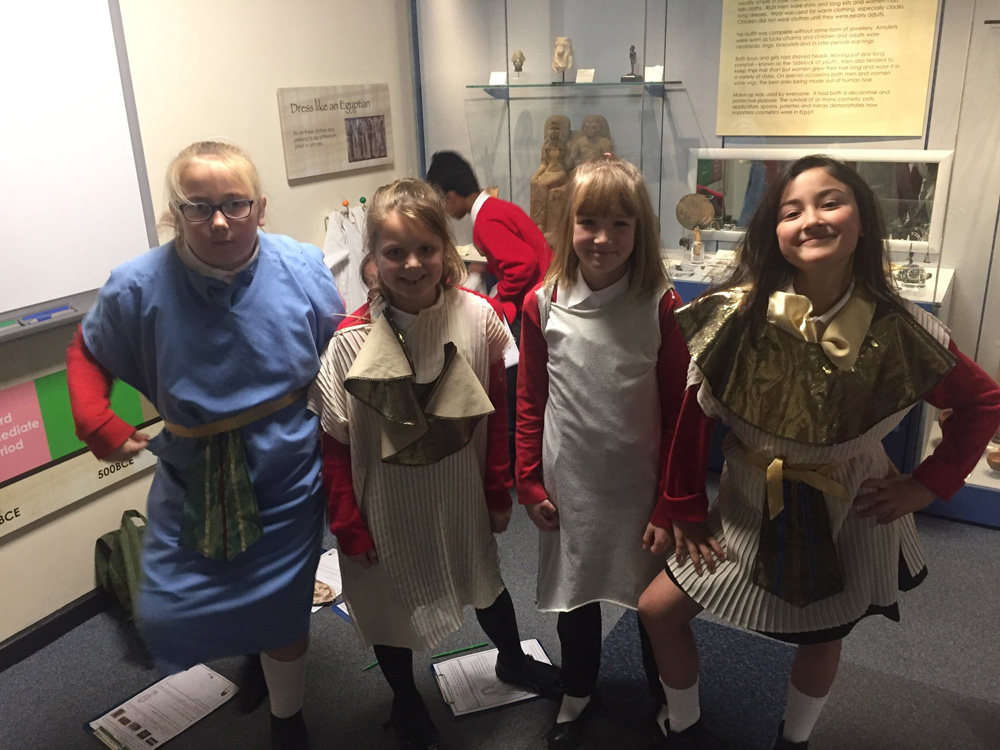 Year 5 at the Oriental Museum