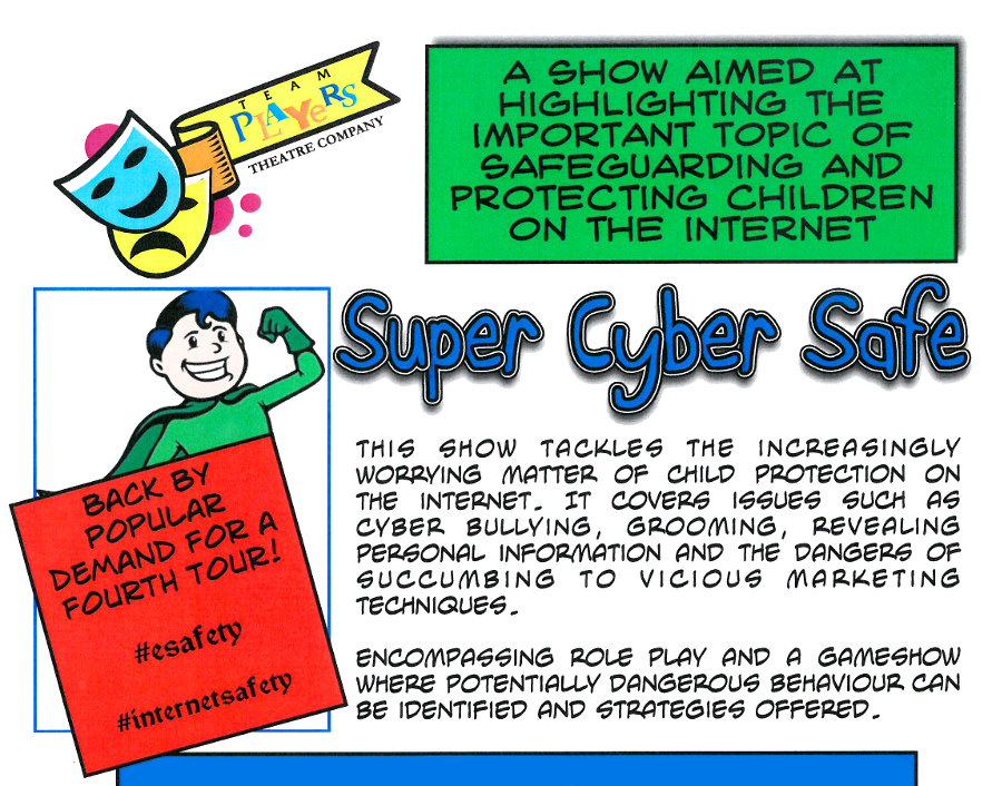 Cyber Safe Day Event Poster