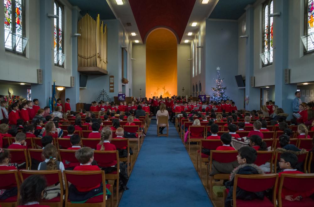 Key Stage 2 Christmas Carol Service