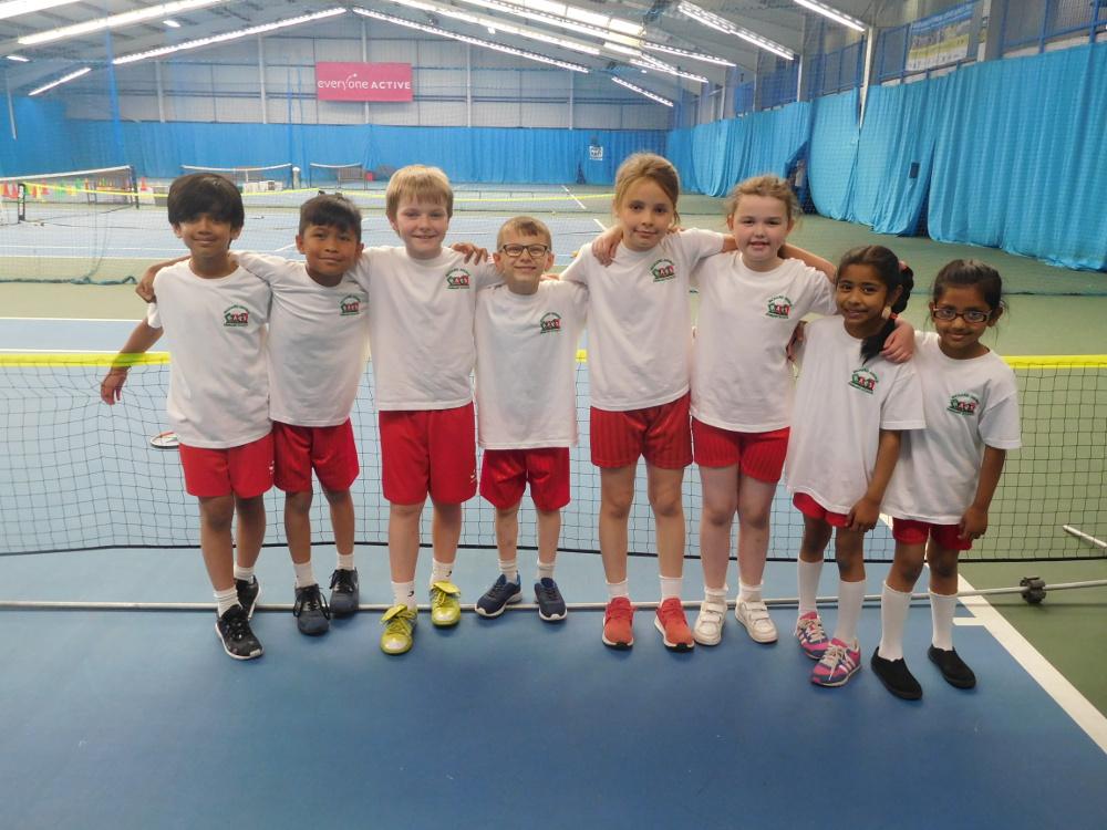 Year 3 Tennis Team