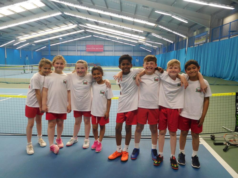 Year 4 Tennis Team