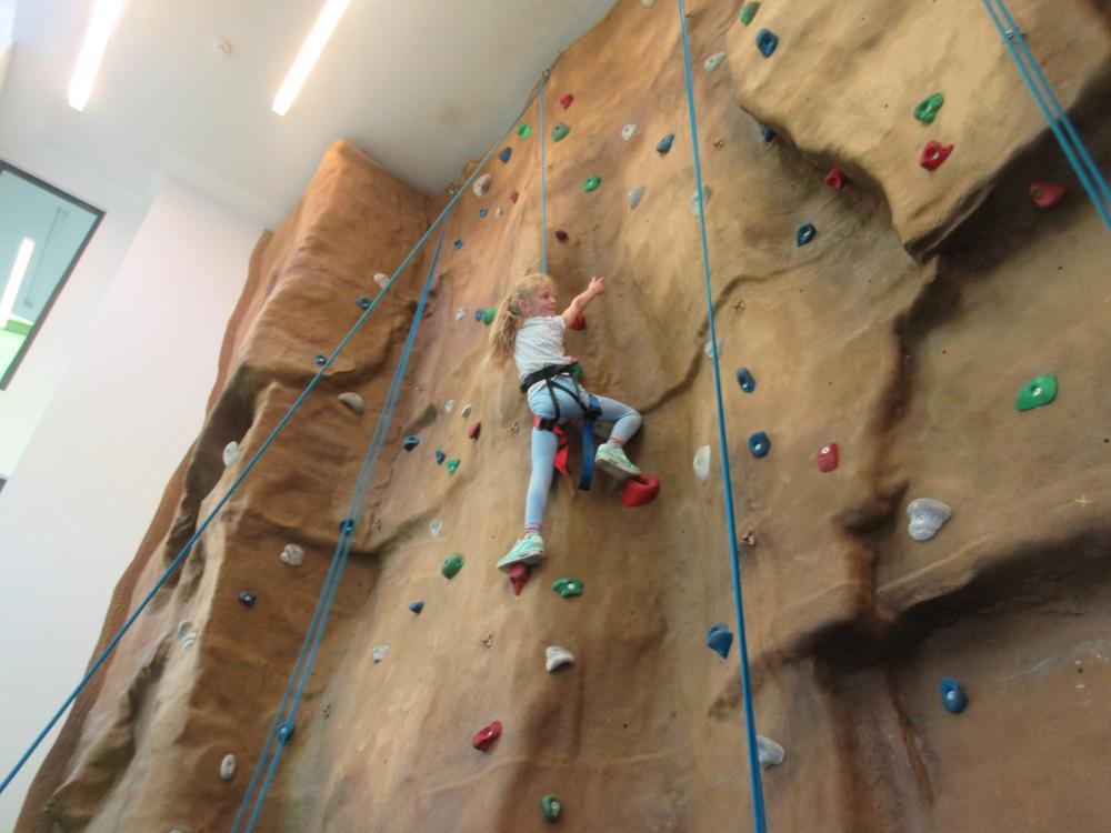 Year 5 at Sunderland Climbing Wall
