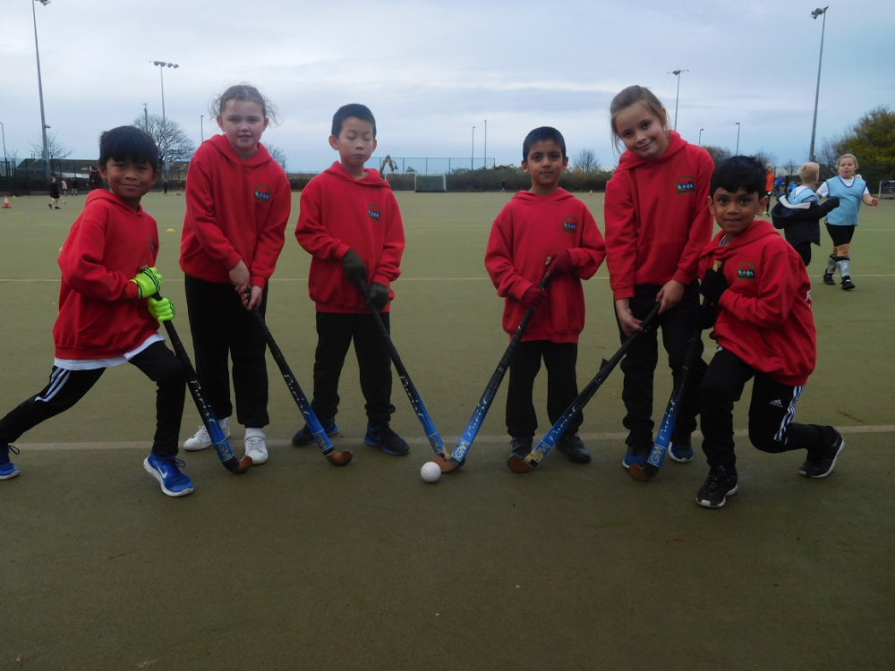 The school hockey team