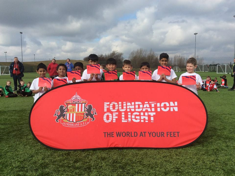 The year 2 and 3 Football Team