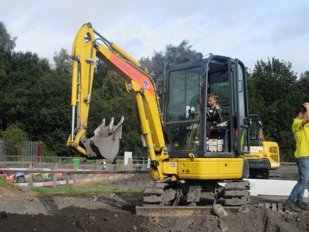 Year One trip to Diggerland