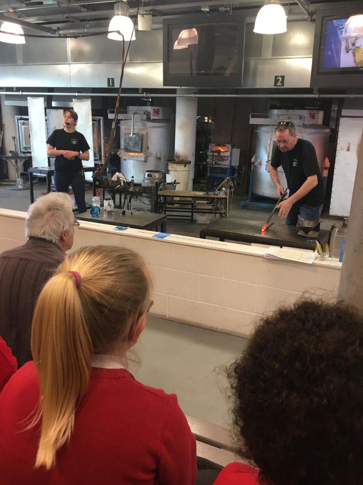 Year 4 at the National Glass Centre