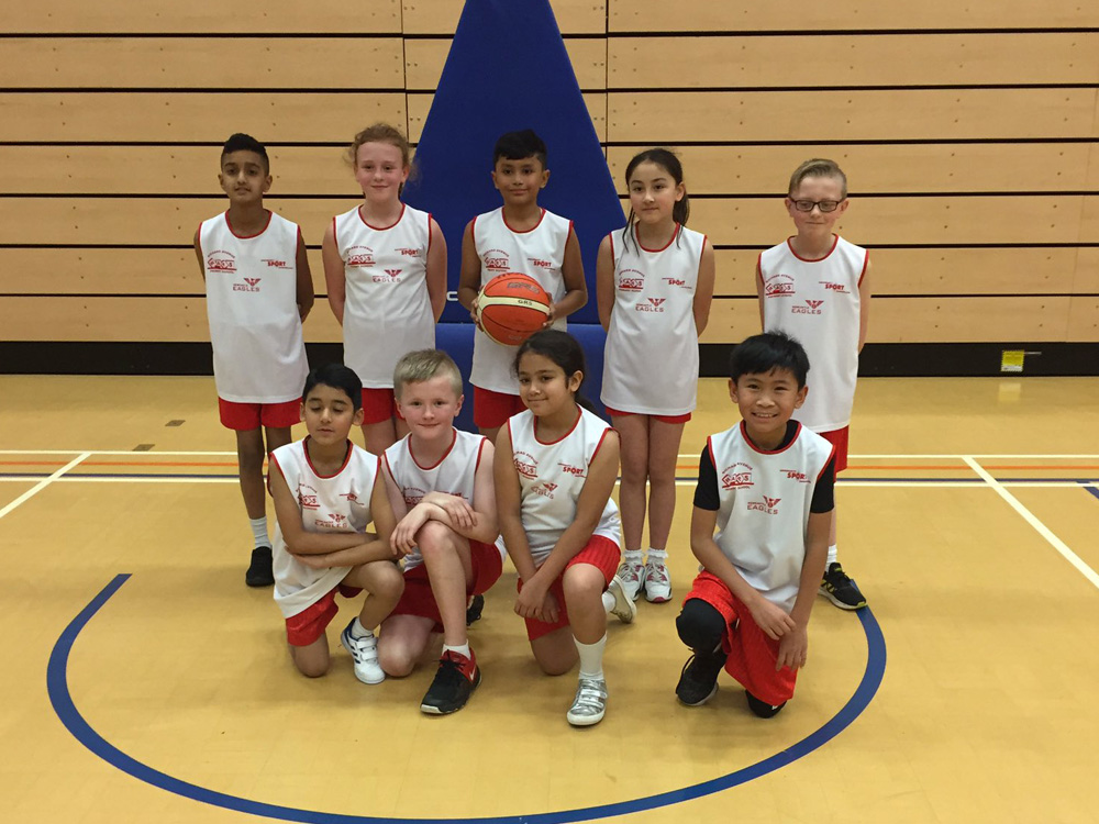 Year 5 Basketball Team