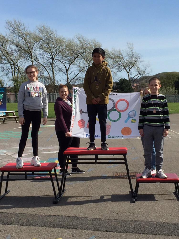 olympics podium